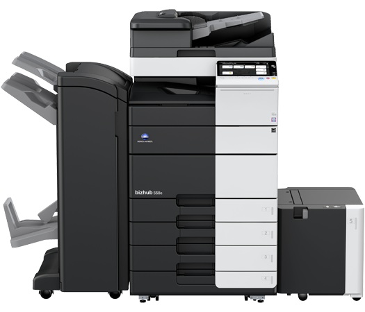 Konica Minolta Bizhub 558e Copier Printer Scanner