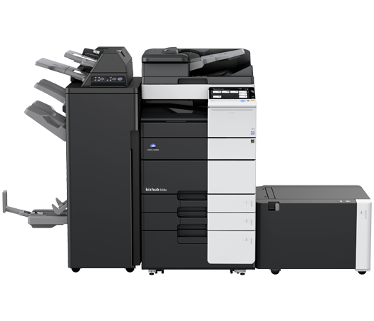 Konica Minolta Bizhub 658e Copier Printer Scanner 4