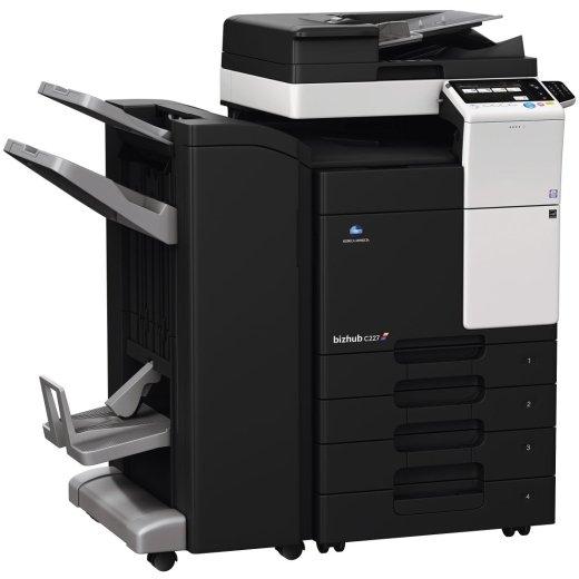 Konica Minolta Bizhub C227 Copier Printer Scanner