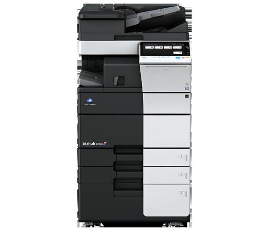 Konica Minolta Bizhub C458 Copier Printer Scanner