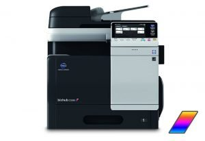Muratec Bizhub C3350 Color Copier Printer Scanner