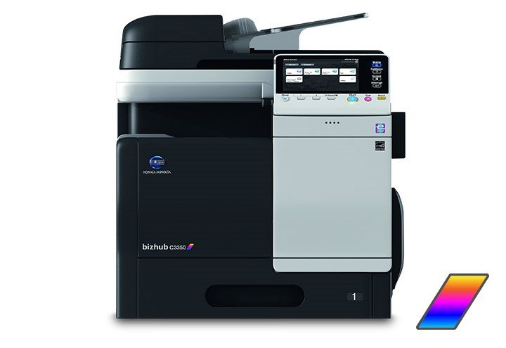 Muratec Bizhub C3350 Color Copier Printer Scanner